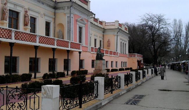 музей Айвазовского в Феодосии