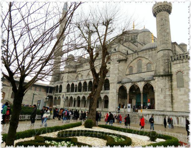 территория Голубой мечети