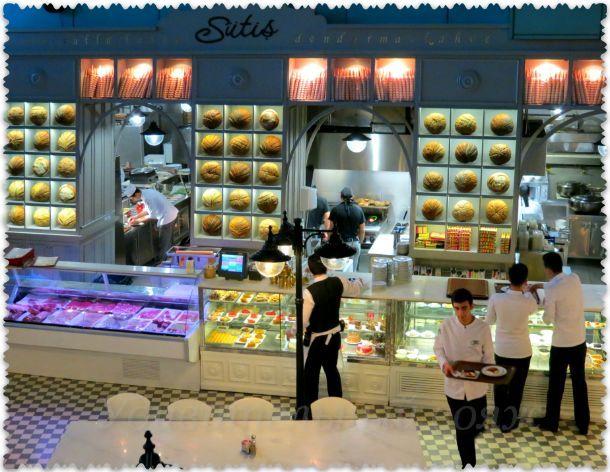 ресторан в Стамбульском аквариуме