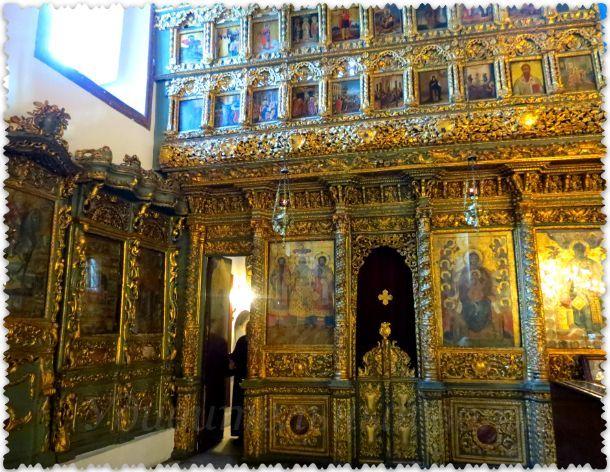 grecheskij pravoslavnyj hram Georgija Pobedonosca