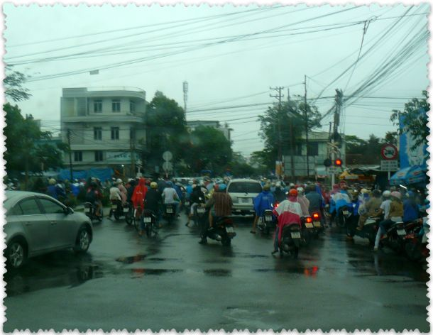 на улицах Вьетнама