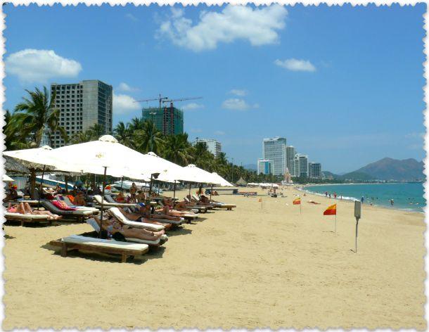 городские пляжи Вьетнама