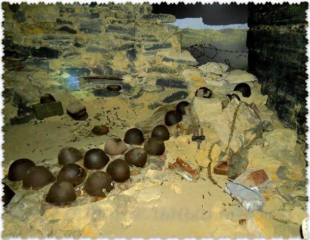 в Аджимушкайских каменоломнях