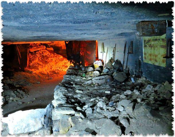 в каменоломнях Керчи