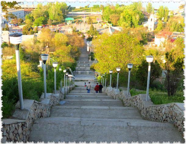 лестница на гору Митридат