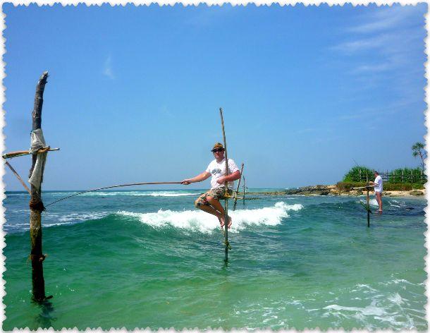 rybalka na shestah v Shri-Lanke