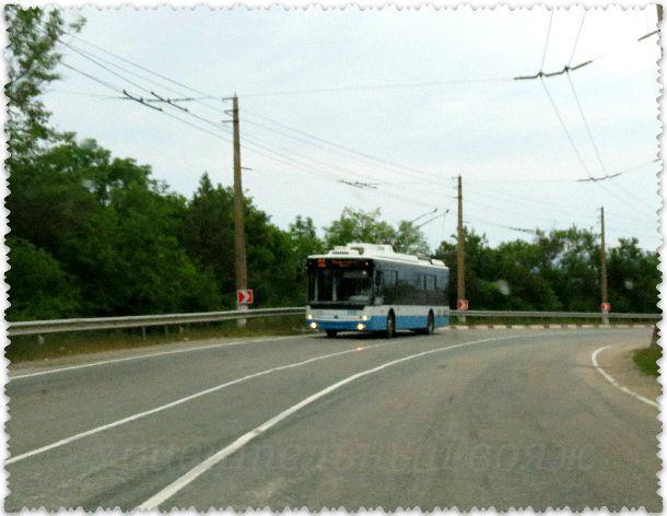 trollejbusnyj marshrut Simferopol'-Jalta