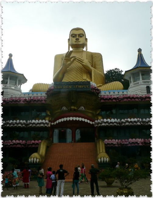 hramovyj kompleks Dambulla