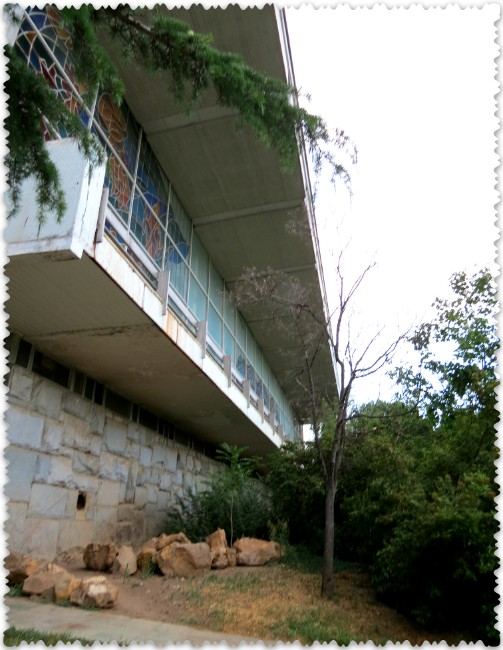 sanatorij Krym v Partenite