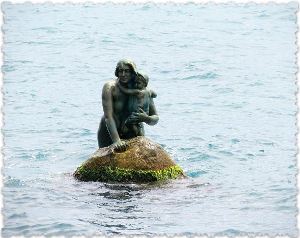 скульптура Русалки в Мисхоре