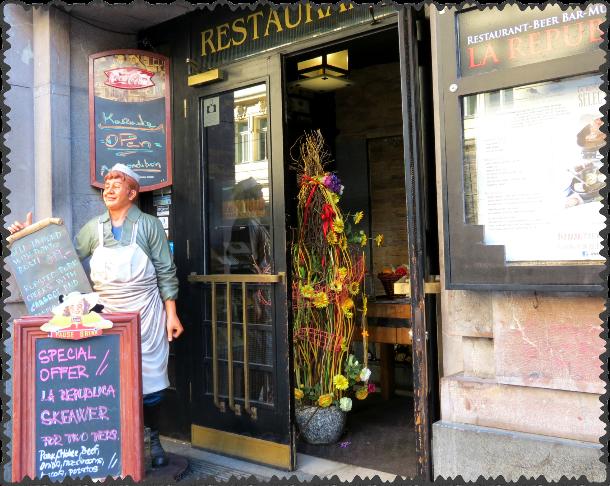 restorany v Prage