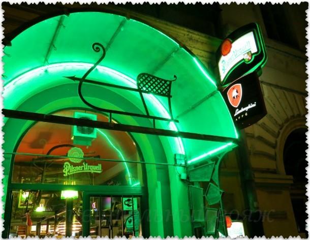 кафе lamborghini, Прага 8