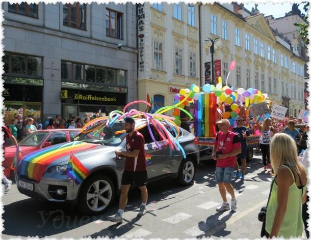 фестиваль Prague Pride в Праге