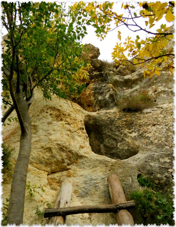 стоянка древнего человека у Белой скалы