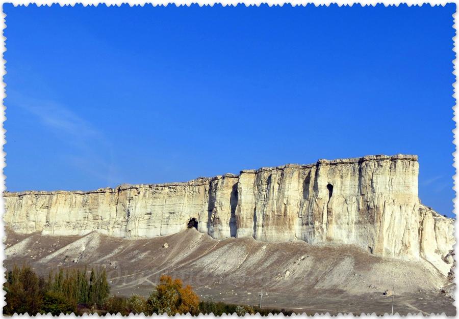 Belaja skala v Krymu