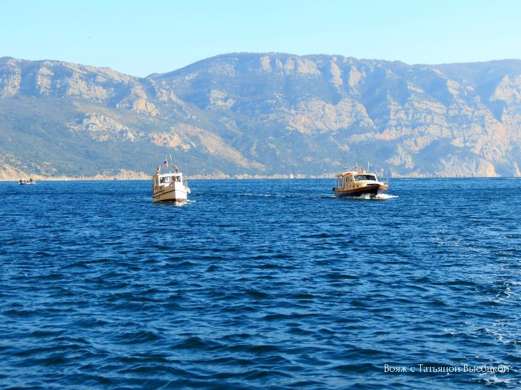 morskie progulki v Krymu