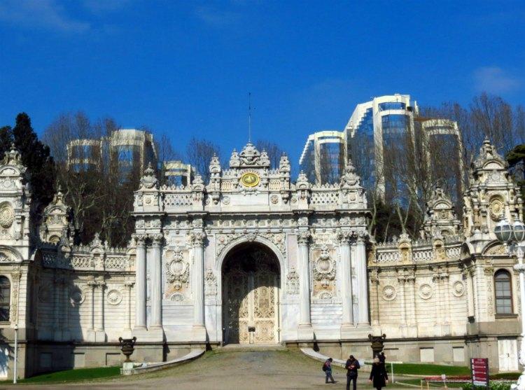 Dolmabhche - dvorec v Stambule