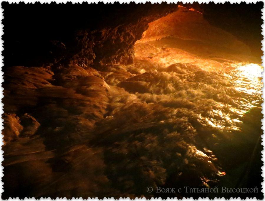 podzemnaja reka v Krasnoj peshhere