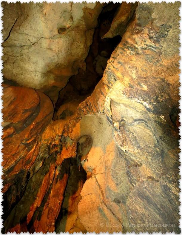 конец маршрута в пещере Кизил-Коба