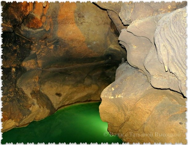 экстримальный маршрут в Красной пещере