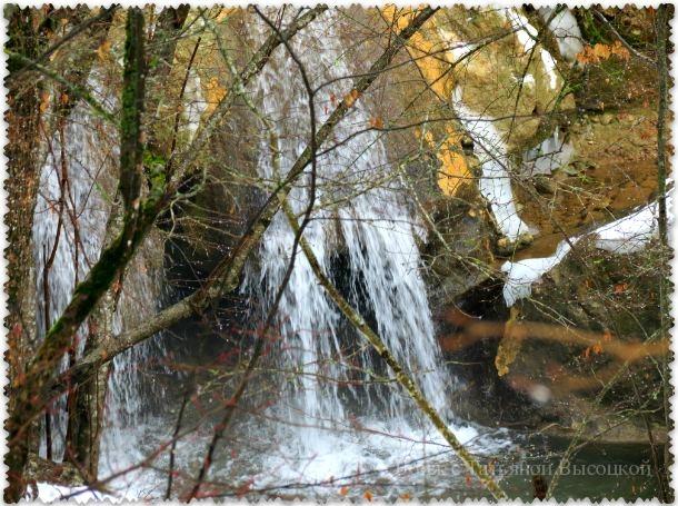 vodopad Su-Uchhan zimoj