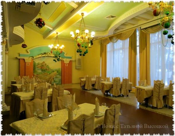 """банкетный зал в ресторане """"Марьина роща"""""""
