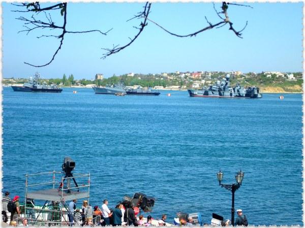 voenno-morskoj parad v Sevastopole na 9 Maja