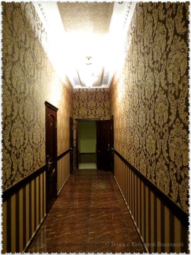 коридор в отеле Espero