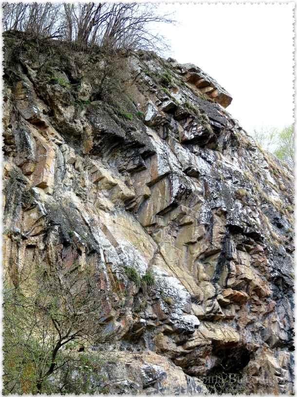 Medovye vodopady vesnoj
