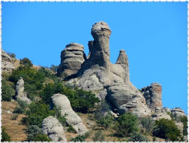 каменные фигуры Демерджи