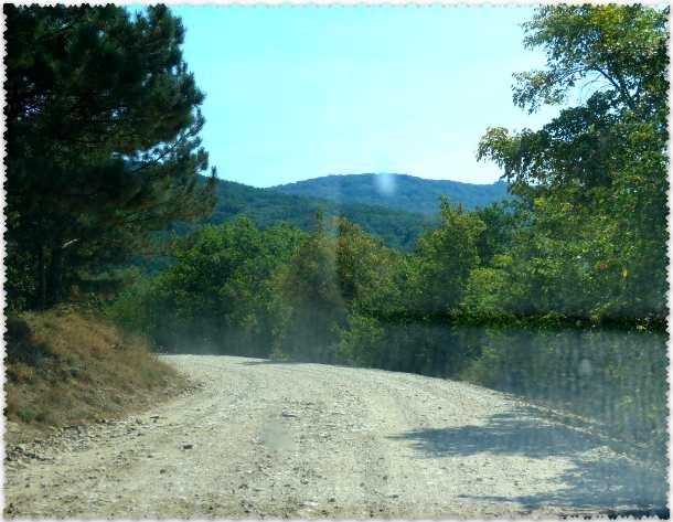дорога к Эмине-Баир-Хосар
