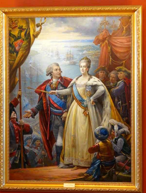 jekspozicii v Bol'shom dvorce Caricyno