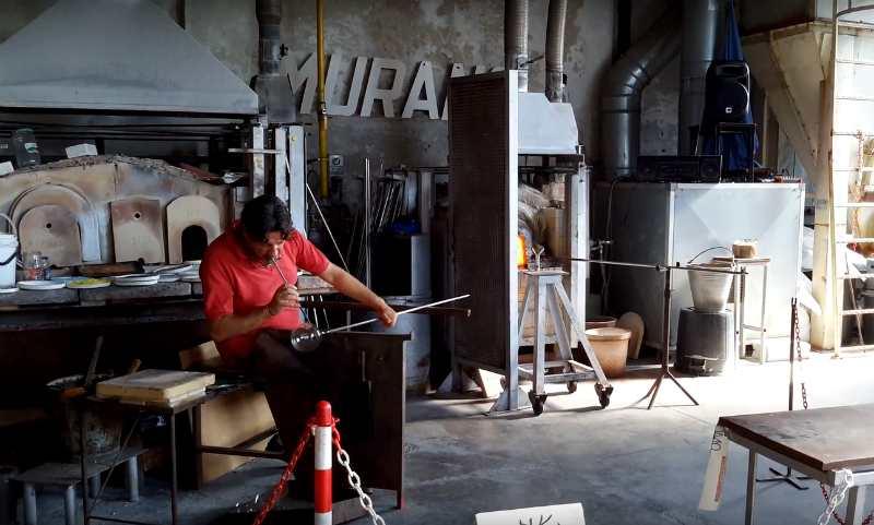 fabrika stekla na ostrove Murano