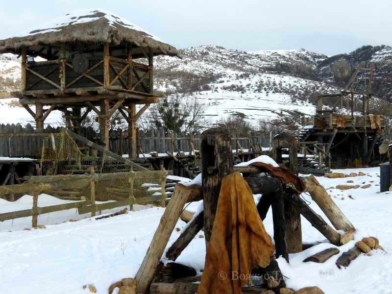 """derevnja """"vikingov"""" v Krymu"""