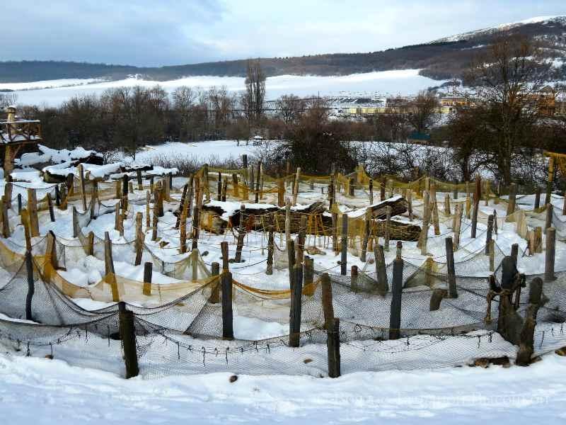 labirint v parke Viking