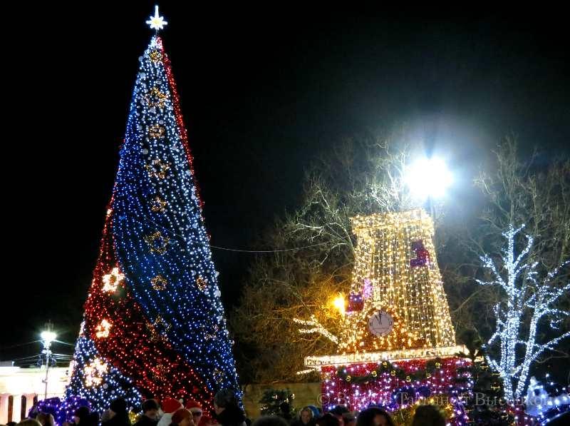 novogodnjaja elka v Sevastopole
