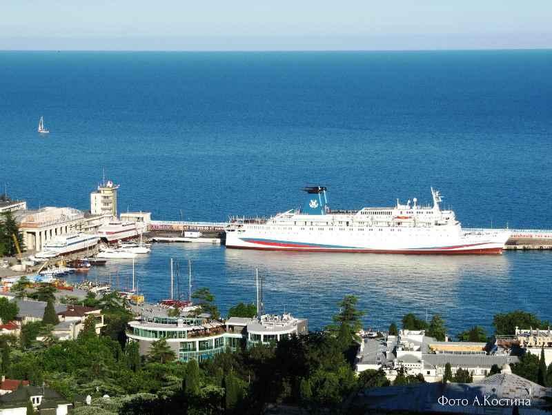 "13 ijunja 2017. ""Knjaz' Vladimir"" v Jaltinskom portu"