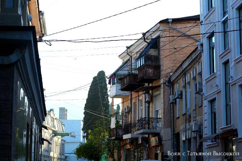 starye ulicy v Jalte