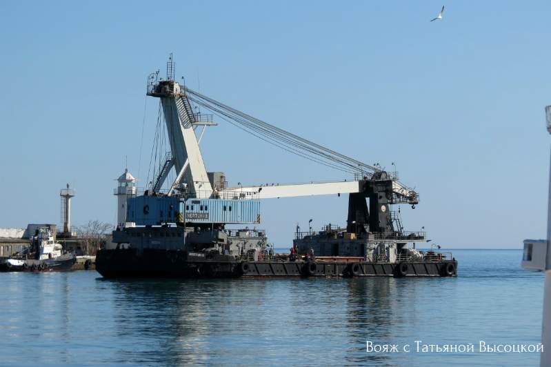 morskoj port v Jalte