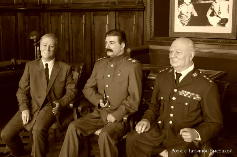 Stalin, Ruzvel't i Cherchill'