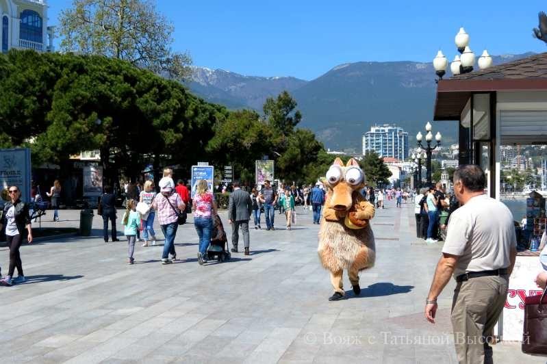 Jalta v aprele