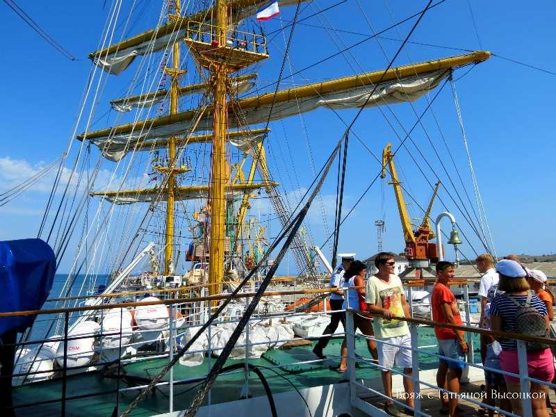 fregat «Hersones» v Feodosii, 28 ijulja 2017 g.