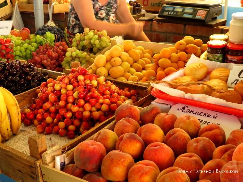 ceny v Alushte na frukty
