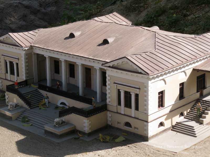 Dom Voroncova v Simferopole -maket