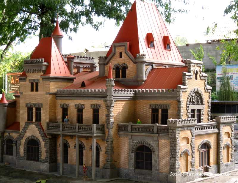 Дворец княгини Гагариной на мысе Плака