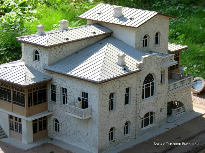 dom A. P. Chehova«Belaja dacha» v Jalte, maket