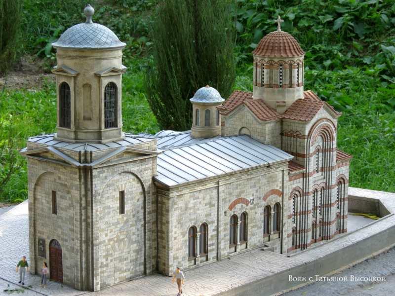 maket pravoslavnogo hrama Svjatogo Ioanna Predtechi