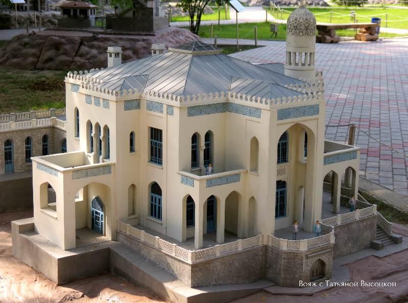maket, villa«Mechta» v Simeize