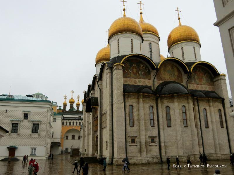 Uspenskij sobor Moskovskogo Kremlja