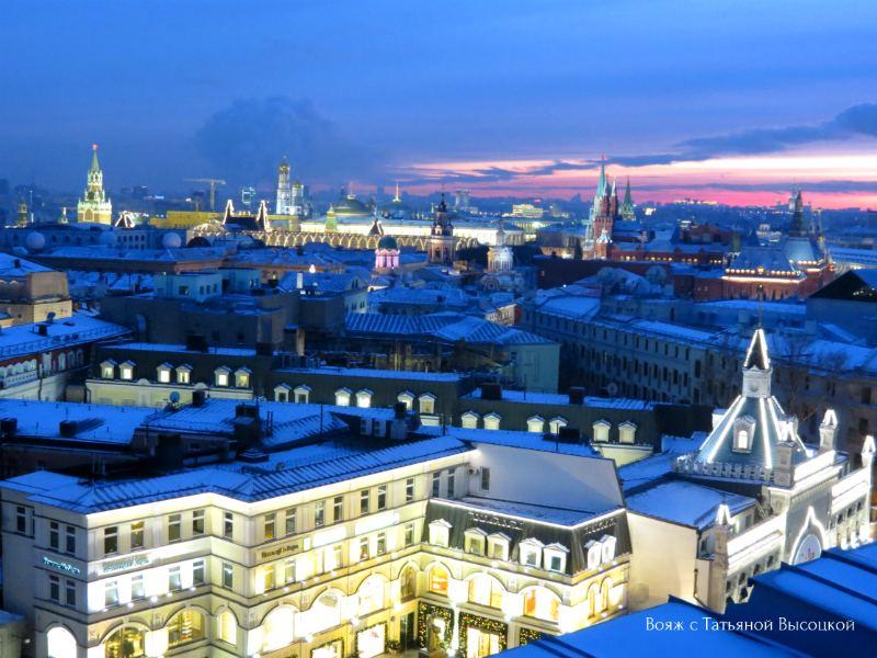 smotrovaja ploshhadka v Moskve
